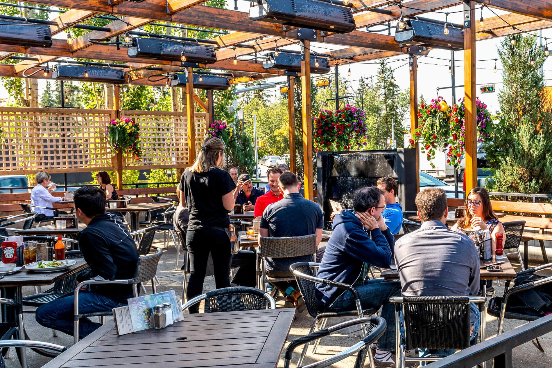 124 Street Restaurant Patio | Edmonton, Alberta